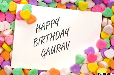happy birthday cake Gaurav captionit2080905385B